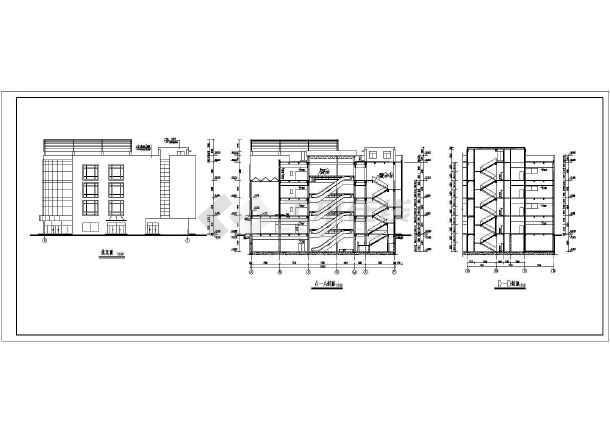 某地商场建筑全套CAD设计施工图-图2