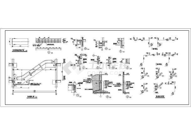 某地商场建筑全套CAD设计施工图-图3