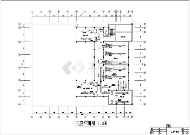 某会议中心空调风、水系统平面图-图1