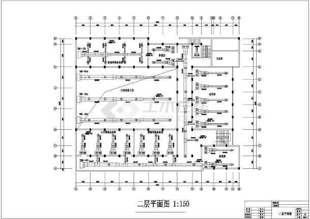 某会议中心空调风、水系统平面图-图2