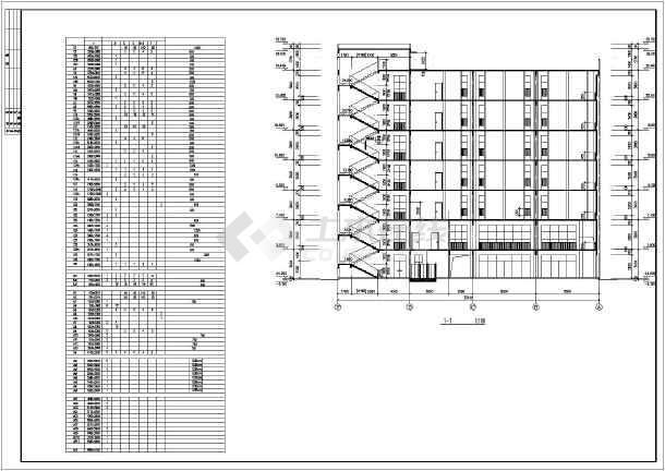 某商业综合楼建筑全套设计CAD施工图-图2