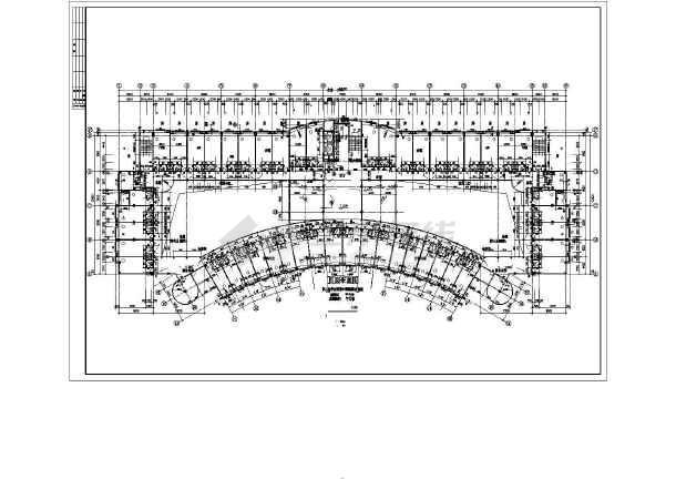 某商业综合楼建筑全套设计CAD施工图-图3
