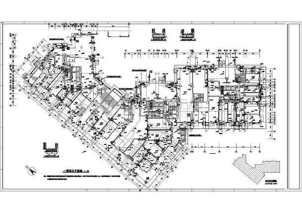 [四川]知名酒店扩建工程给排施工图-图1