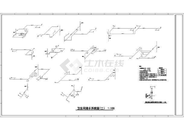 [四川]知名酒店扩建工程给排施工图-图3