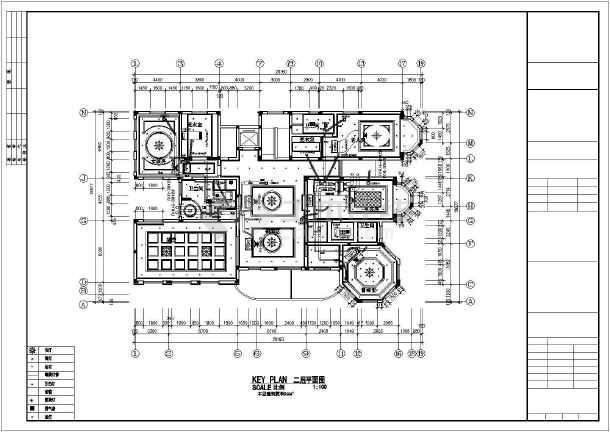 某别墅空调布置平面图-图3