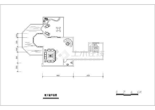 经典户型别墅建筑设计图-图2