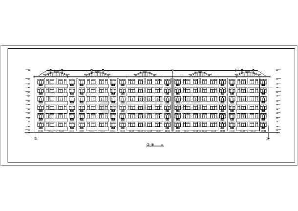 [海南]多层住宅楼给排水施工图(雨水收集)-图1