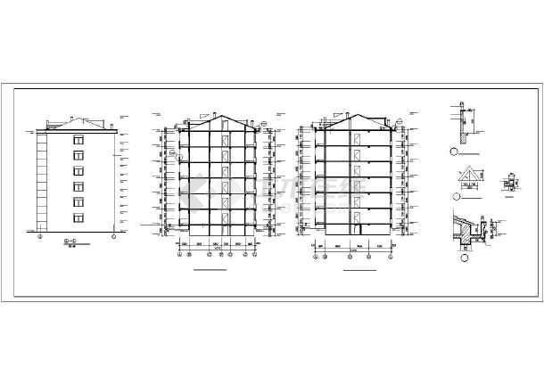 [海南]多层住宅楼给排水施工图(雨水收集)-图2