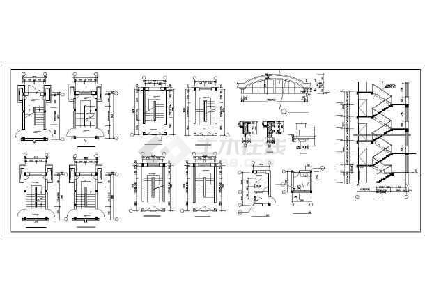 [海南]多层住宅楼给排水施工图(雨水收集)-图3