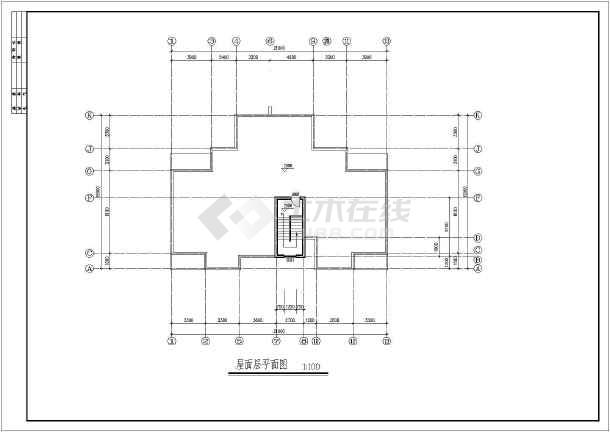 集资房建筑方案设计图纸-图1