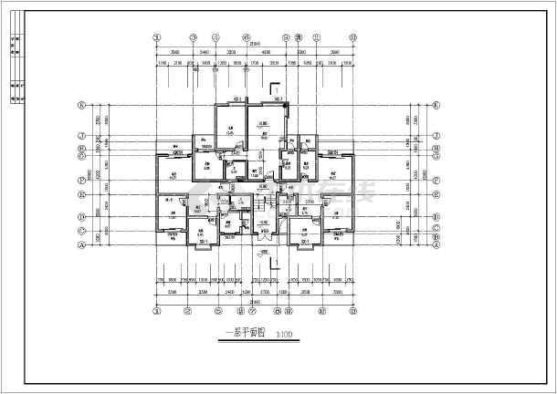 集资房建筑方案设计图纸-图3
