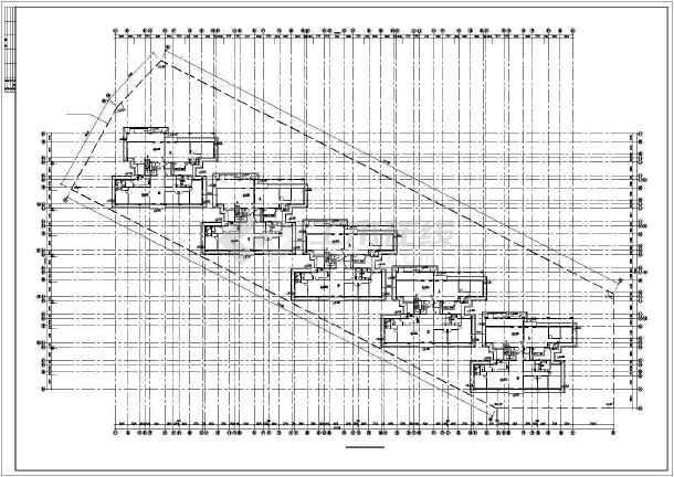 南方某市某小区多层住宅建筑设计图-图1