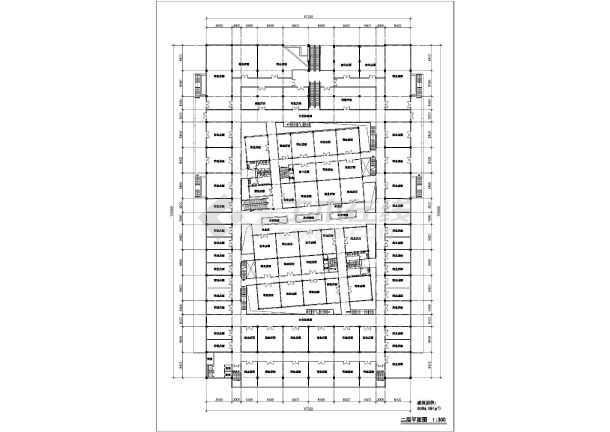 商场平立面建筑设计施工CAD图-图2