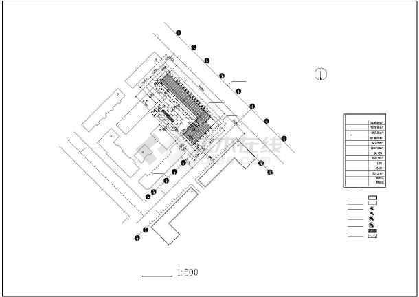 某市某小区多层住宅建筑图(共10张)-图2