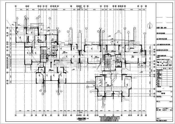 点击查看[湖北]架空式商住楼给排水及暖通施工图纸(太阳能热水系统)第1张大图