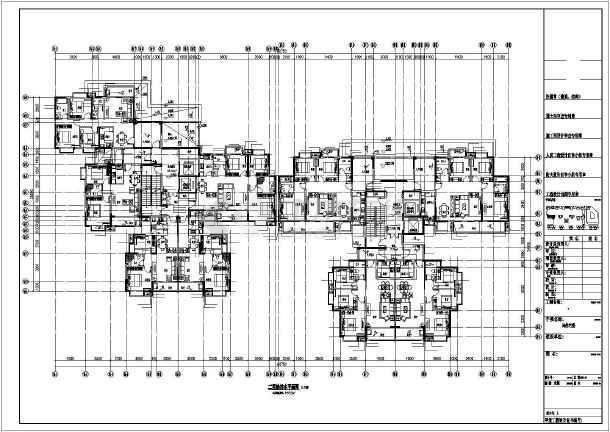 [湖北]架空式商住楼给排水及暖通施工图纸(太阳能热水系统)-图1