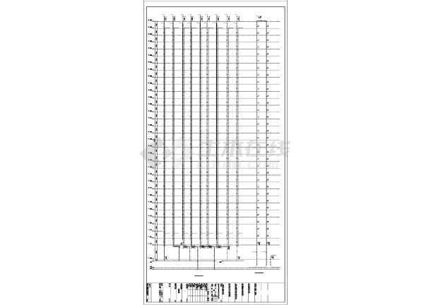 [湖北]架空式商住楼给排水及暖通施工图纸(太阳能热水系统)-图2