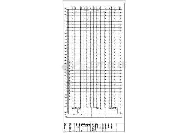 [湖北]架空式商住楼给排水及暖通施工图纸(太阳能热水系统)-图3