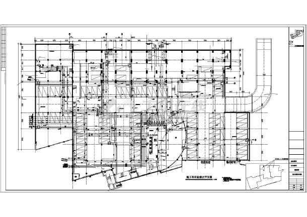 点击查看高层酒店办公楼给排水施工图(自动喷淋系统空调冷却循环水系统)第1张大图