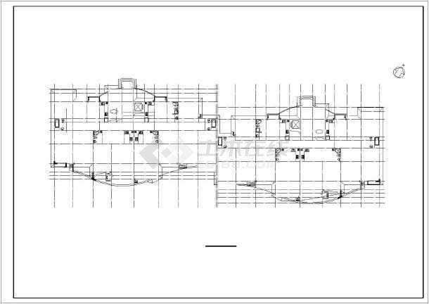 某小区小高层住宅楼建筑设计图-图1