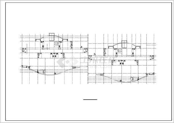 某小区小高层住宅楼建筑设计图-图2