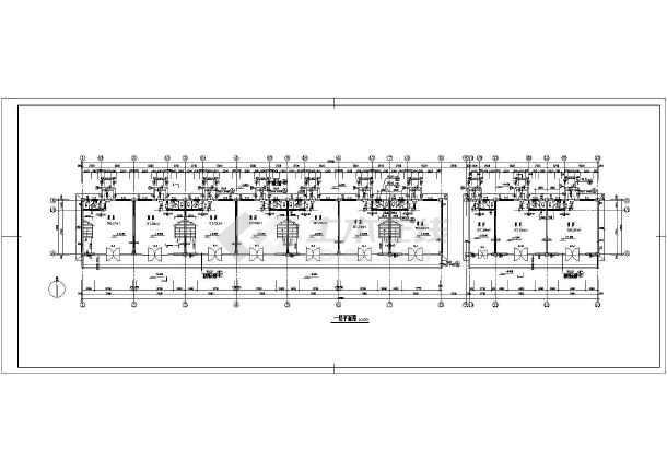 某地二层商业楼建筑施工图-图2