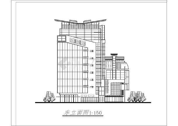 某地大酒店建筑施工图-图2