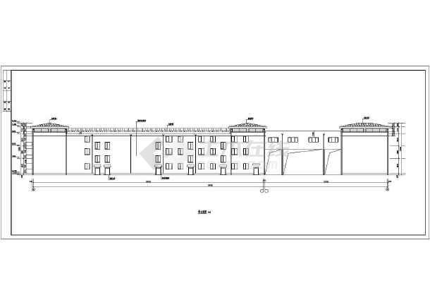 某小区居民住宅楼建筑设计图-图二
