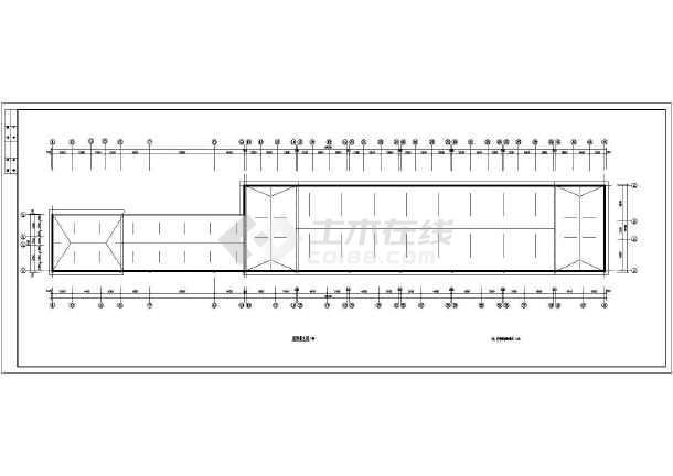 某小区居民住宅楼建筑设计图-图2