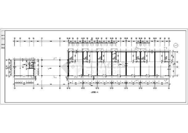 某小区居民住宅楼建筑设计图-图3