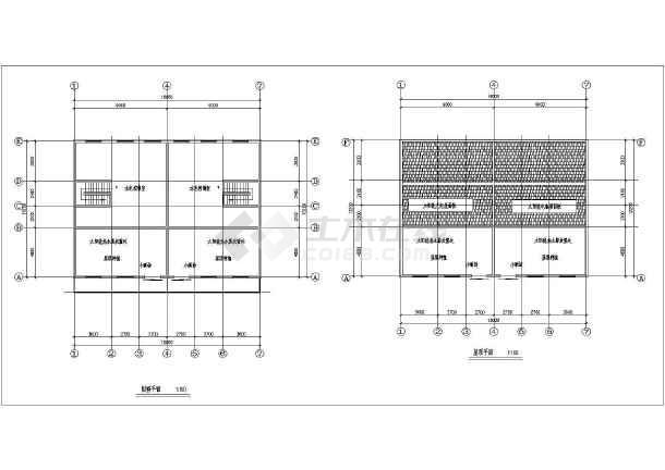 某地新农村住宅设计建筑图-图3