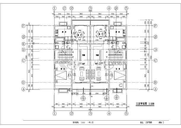 某地多层高级寓所建设施工图-图2