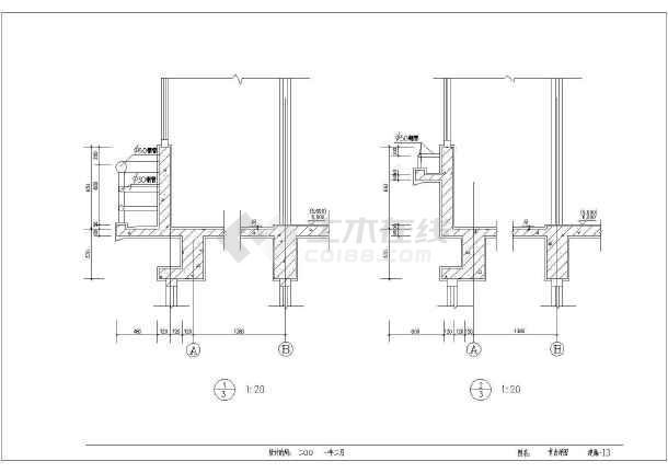 某地多层高级寓所建设施工图-图3
