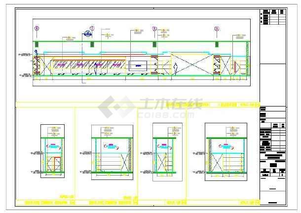 某2000平米中餐厅内装修设计图-图2