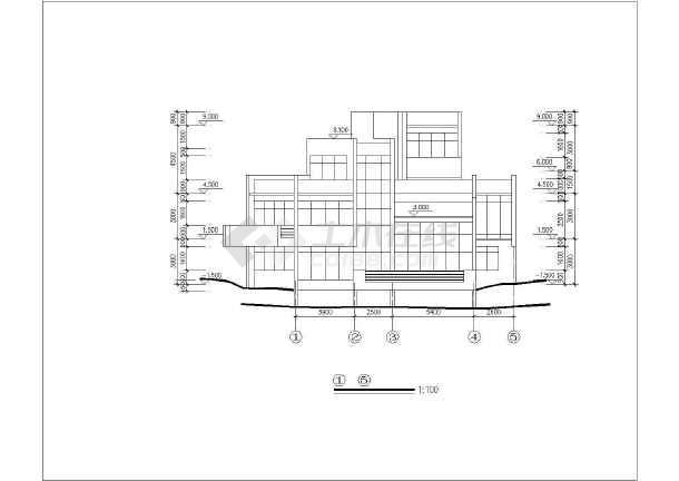 双拼度假别墅建筑设计施工图-图2