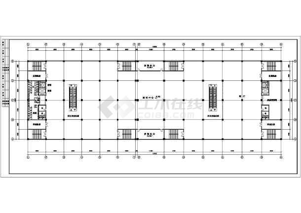某商场建筑设计CAD全套方案图-图1