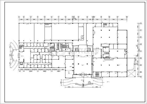 [江苏]花园商务型大酒店给排水施工图纸(蒸汽系统)-图一