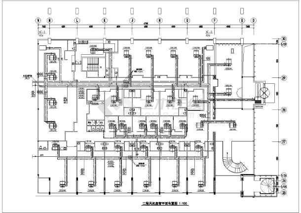 某豪华海鲜酒家设计装修图-图2