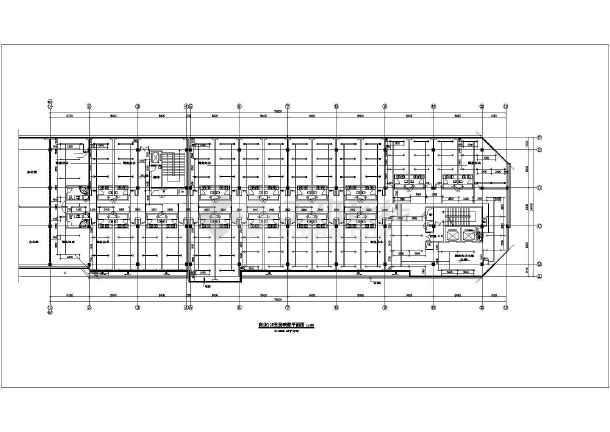 五层商业办公楼给排水施工图纸-图1