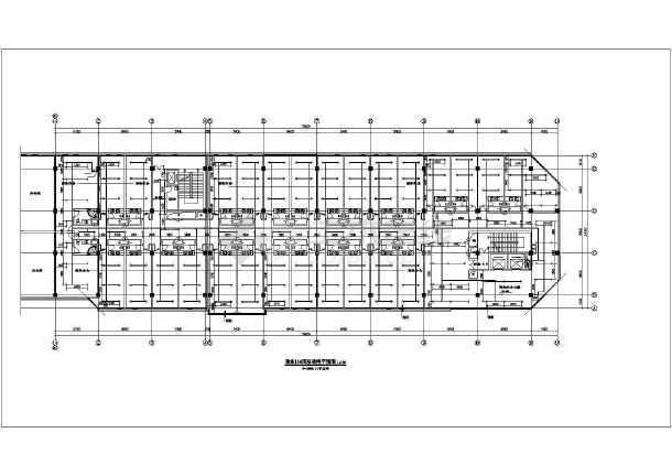 五层商业办公楼给排水施工图纸-图2