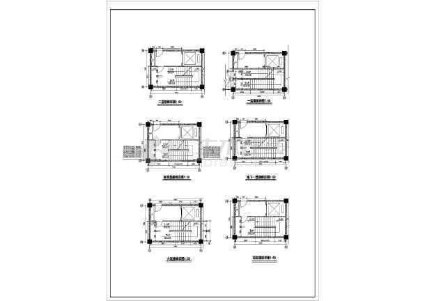 谋反高层宾馆建筑设计方案图-图一