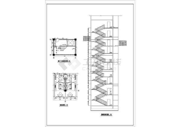 谋反高层宾馆建筑设计方案图-图2