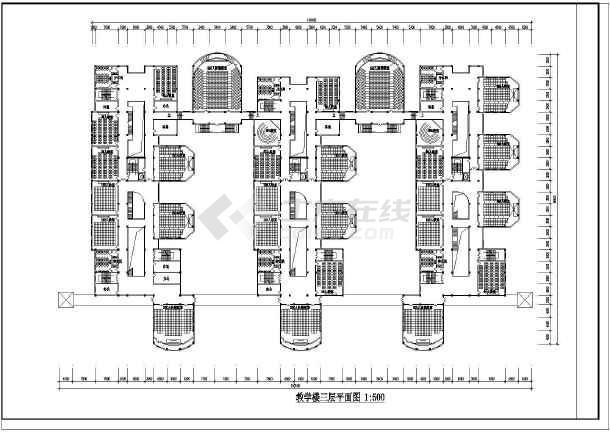 一套教学楼设计方案建筑图-图2