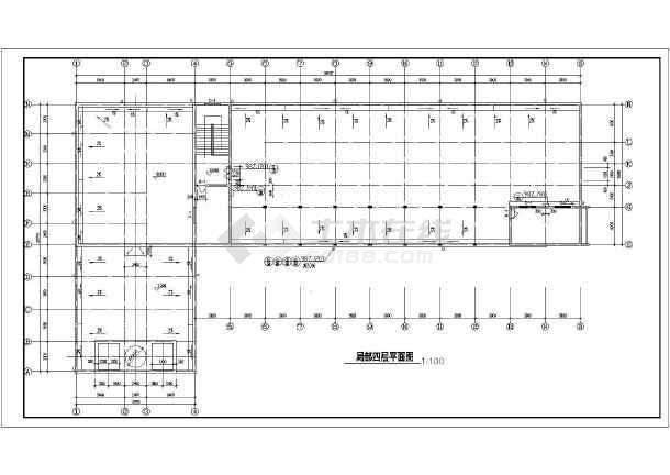 某地四层宾馆建筑图(含设计说明)-图3