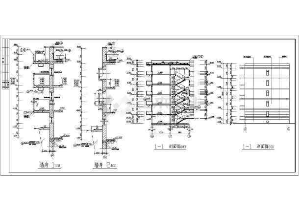 某小区多层住宅建筑施工图-图1