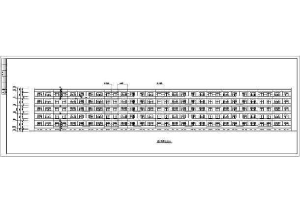 某小区多层住宅建筑施工图-图2