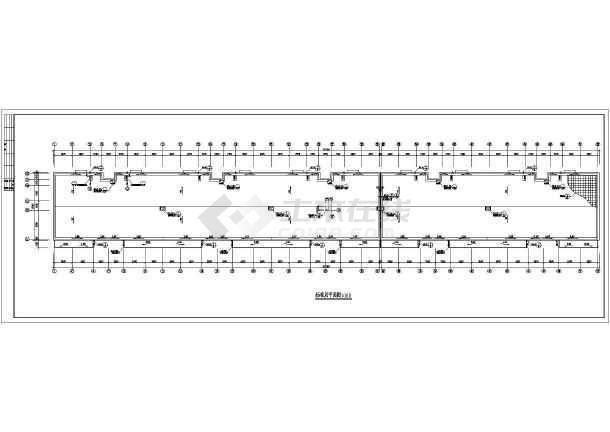 某小区多层住宅建筑施工图-图3