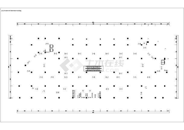某超市空调系统平面图-图1