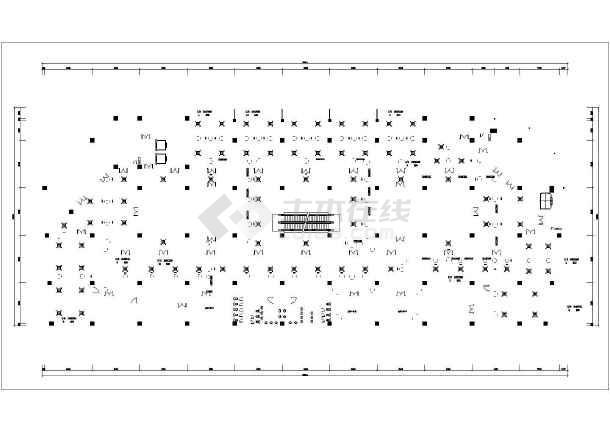 某超市空调系统平面图-图2