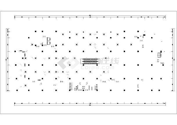 某超市空调系统平面图-图3